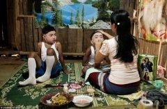 泰国男孩入寺为僧全仪式过程