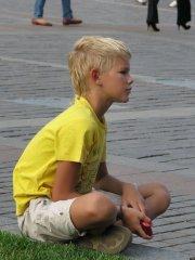 Blond Sunshine Boy