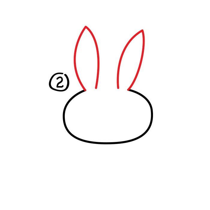 卡通-卡通小白兔怎么画